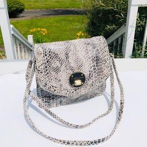 Elliot Luca 100% leather purse crossbody bag